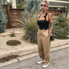fulltime-lingerie-life-daily-street-style-fashion-cadolle-vintage-wwii-khakis-summer