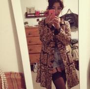 fulltime-lingerie-life-daily-street-style-fashion-nanette-lepore-animal-print-trench-coat-stockings